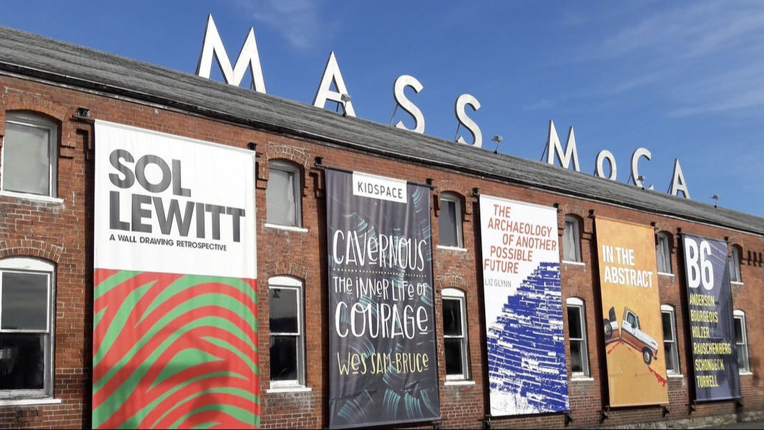 MASS MoCA, a world-class museum in North Adams, Massachusetts.